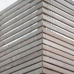 Balkonverkleidung Lärche Rhombus ca. 6 Monate alt